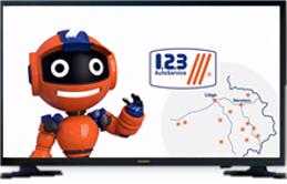 1,2,3 AutoService sous les projecteurs à la TV