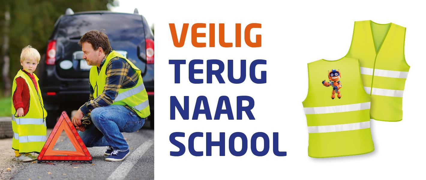 Veilig terug naar school !